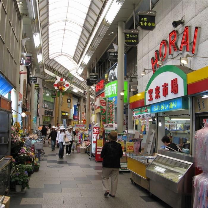 tenjinbashisuji shotengai