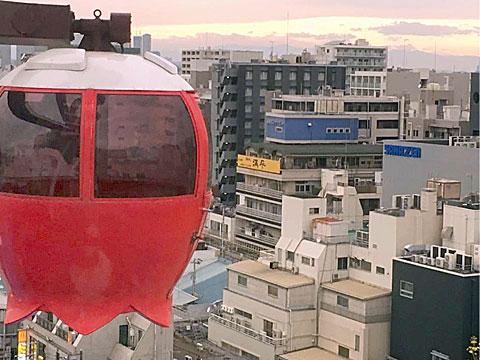 蒲田東急プラザ・かまたえん「幸せの観覧車」おでかけ観光ガイド-東京都大田區
