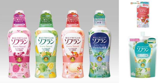 Soflan Laundry Detergent in Japan