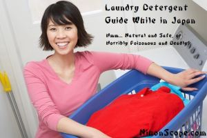 Japanese Laundry Detergent and Safeness