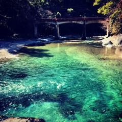 夢渕と東の滝@東吉野