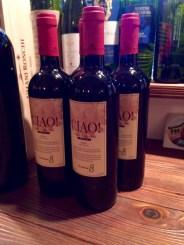 Ciao!という名のワインをご用意いただきました。