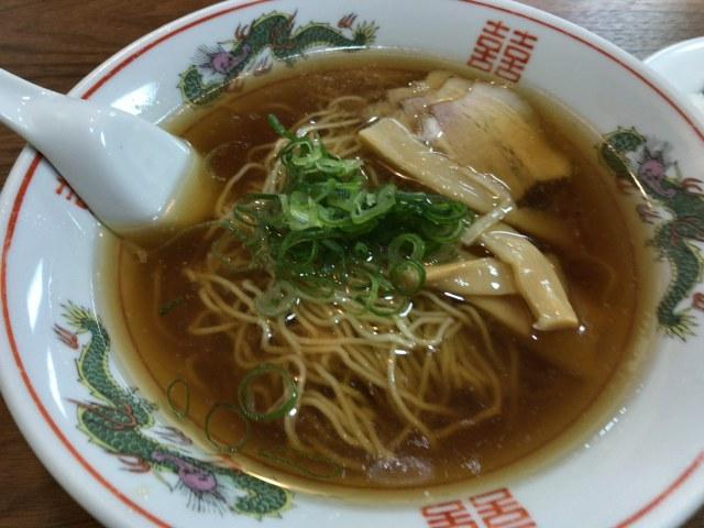 新潟市西区にある西区の大所でラーメン食べた