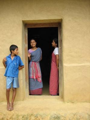 A tribal village in Srimangal