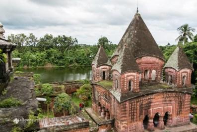 Pancha-Ratna Gobinda Temple of Puthia