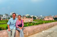 At Lalbagh Fort in Old Dhaka