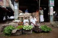Vegetable sellers on a village market. ©Photo: Tony Eales
