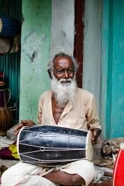 Dhamrai Drummer. ©Photo: William Leonard