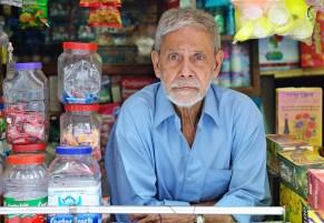 The old shopkeeper ©Photo: Rakib Hasan Sumon