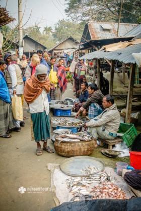 A bazaar in Barisal