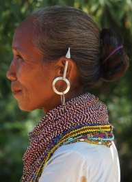 An woman from Tripura tribe