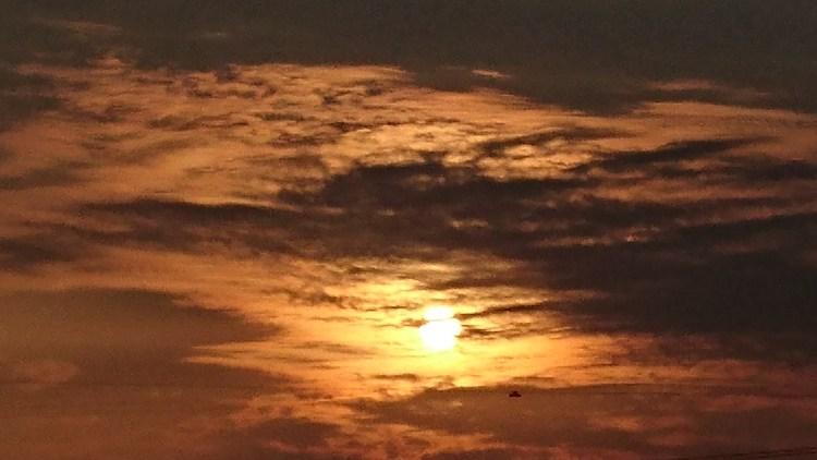 太陽の蜃気楼(2016.10.2)