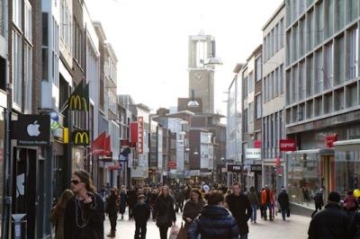 Binnenstad Nijmegen van de toekomst naar aanpak van