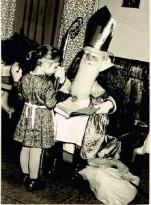 Der Nikolaus im Kindergarten machte mir Angst.