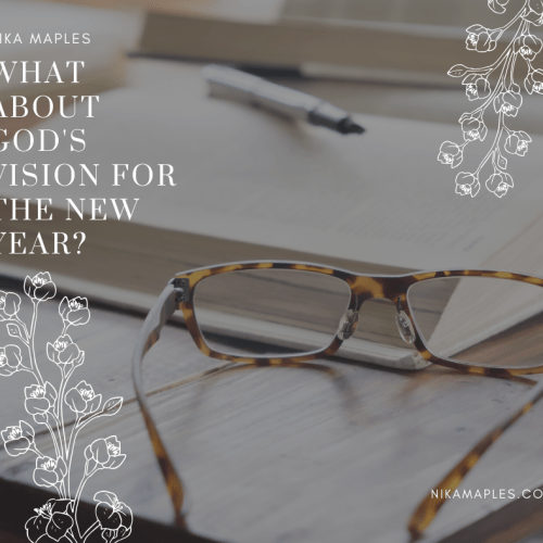 What About God's Vision for the New Year?