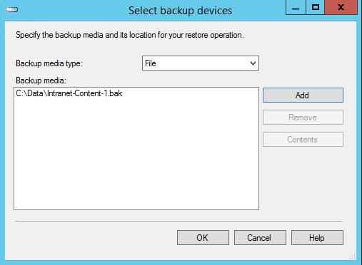 SelectBackupFile