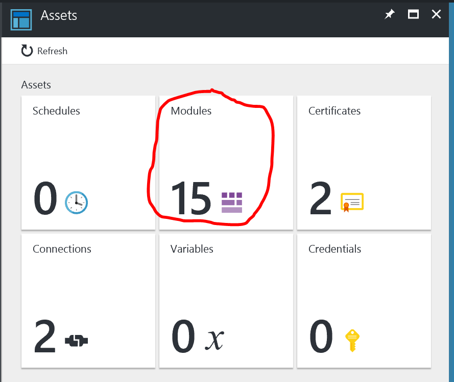 Adding Azure Automation Module