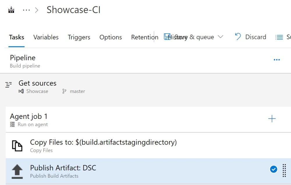 Azure DevOPS Build Definition