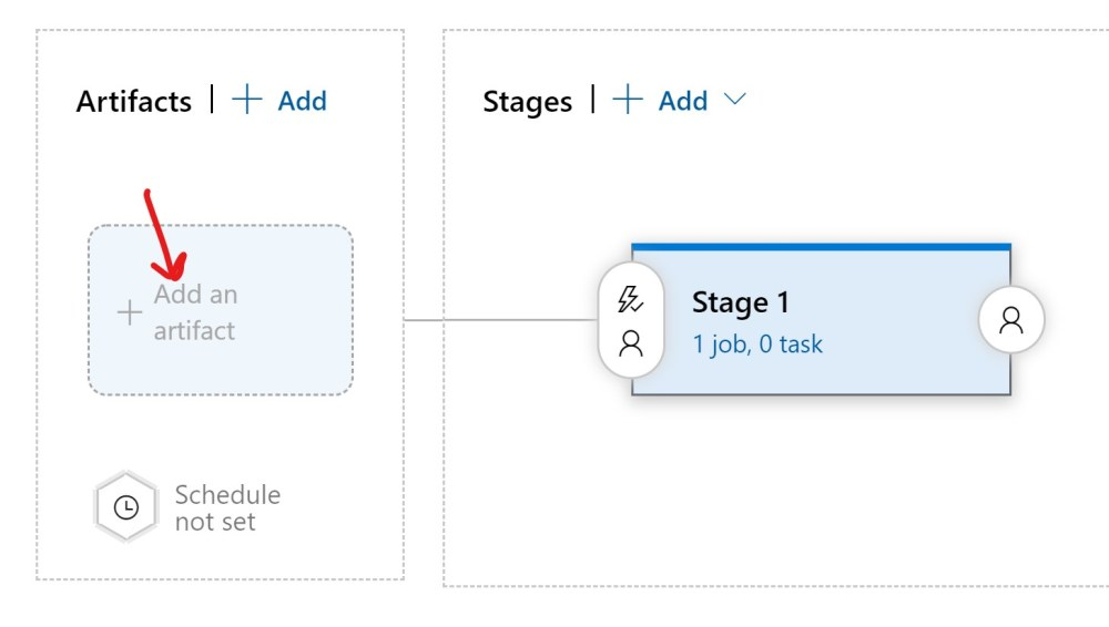 Add Azure DevOPS Release Pipeline Artifact
