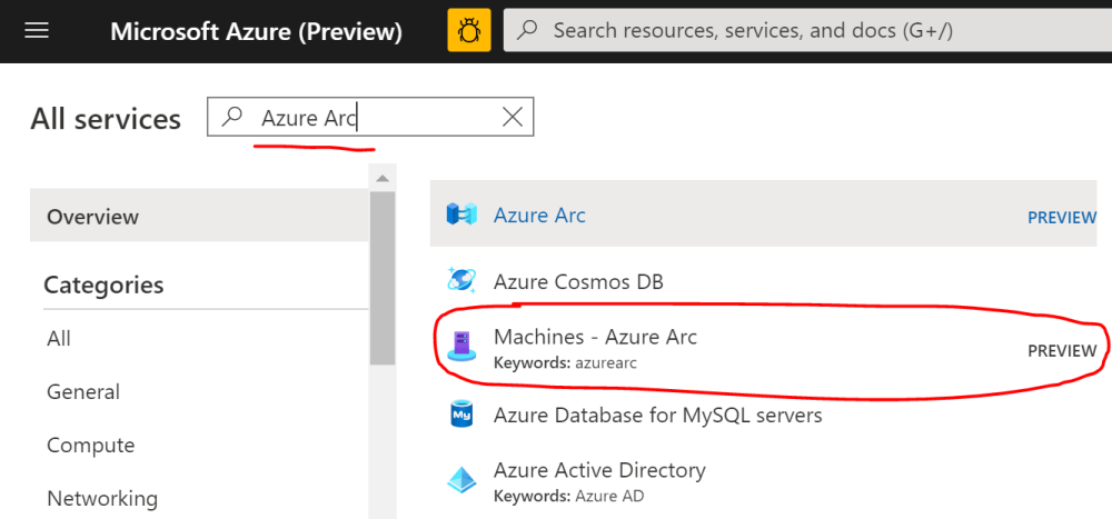 Machines - Azure Arc
