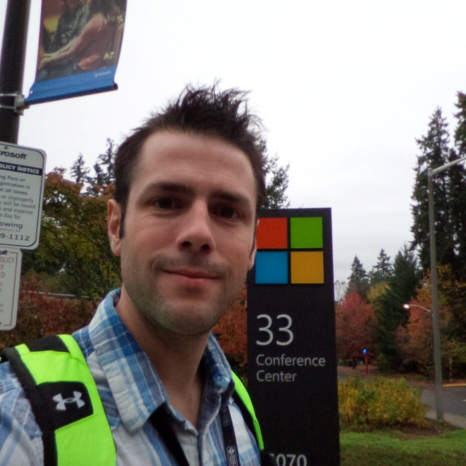 On the Microsoft Campus
