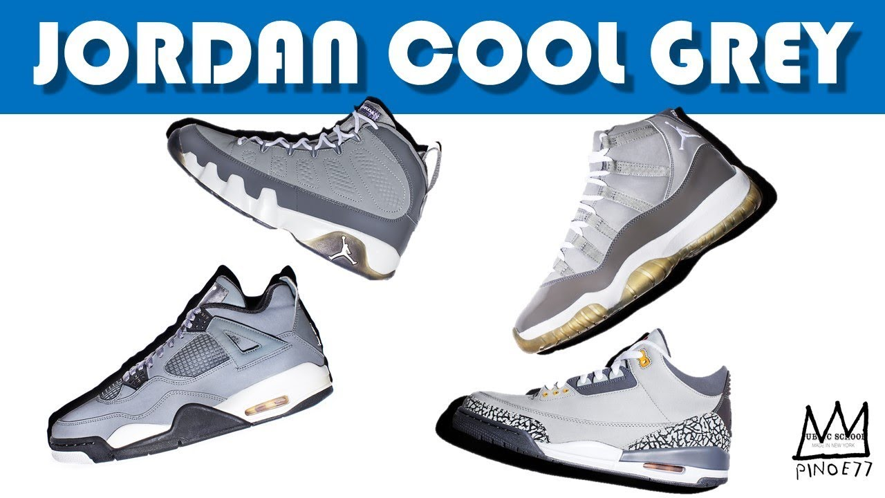 new concept 7f03f 7934f AIR JORDAN COOL GREY COLLECTION & RELEASE MAPS, LEBRON 15 ...