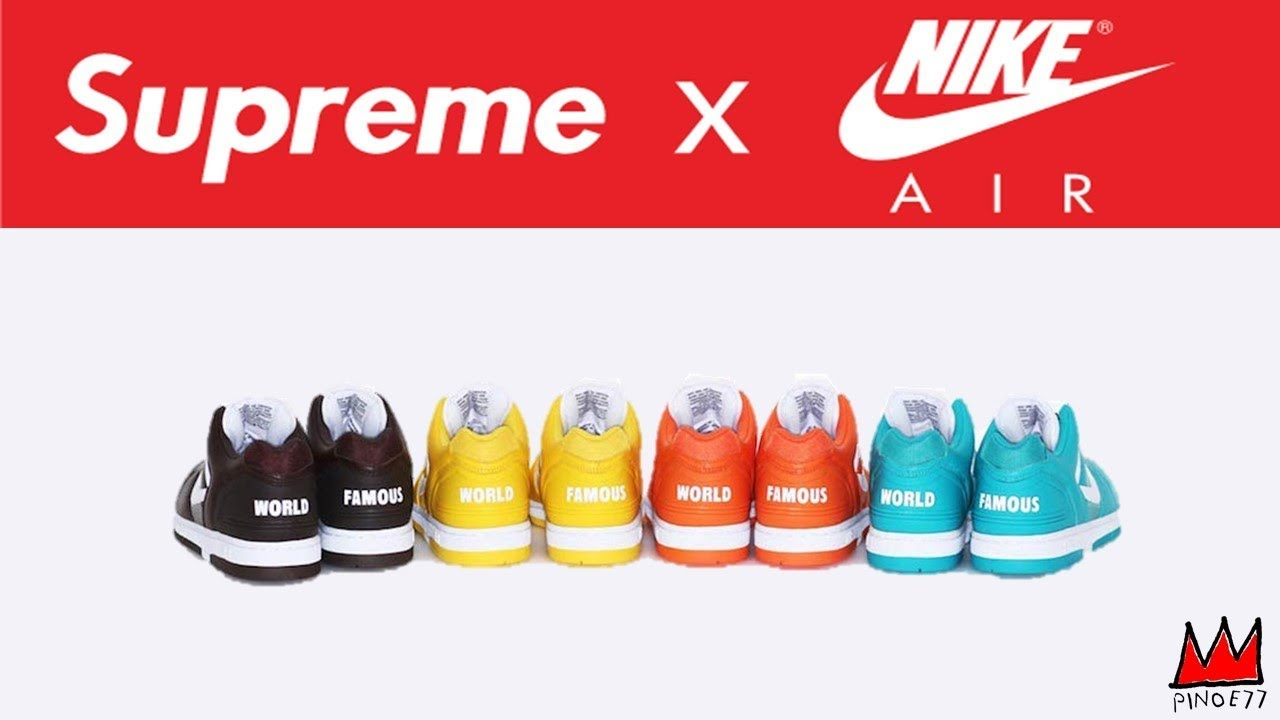 3d093d64b26c7 SUPREME x NIKE RELEASE, OFF WHITE x NIKE THE TEN RELEASE DETAILS LEBRON 15  & MORE!!