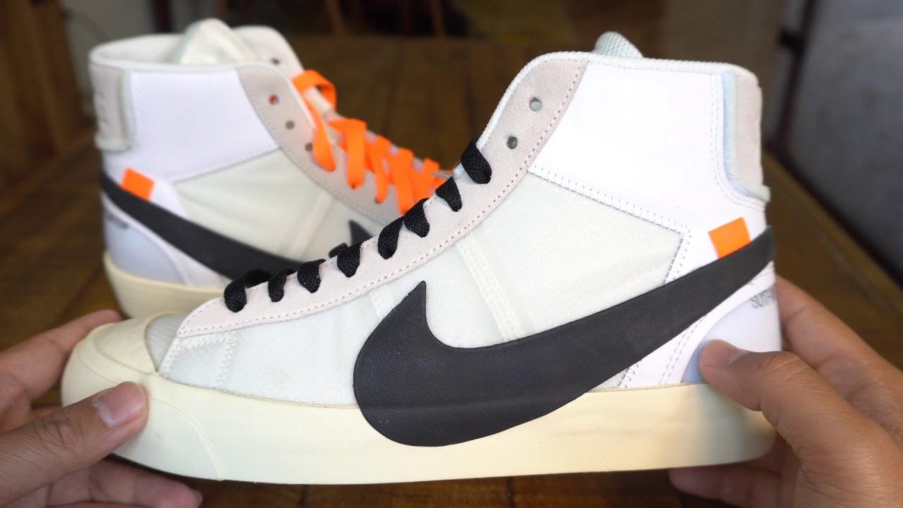 REVIEW ON FEET Off White x Nike Blazer - REVIEW & ON-FEET: Off-White x Nike Blazer