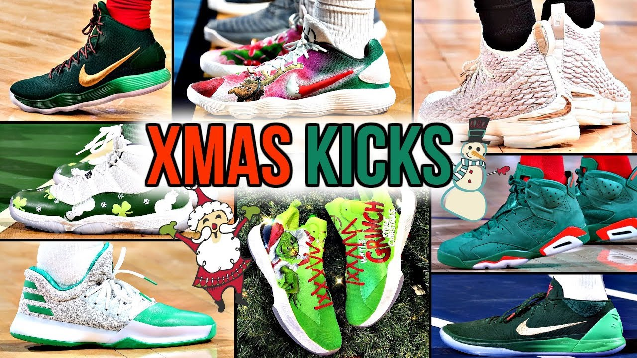 BEST NBA PLAYER SNEAKERS WORN ON CHRISTMAS DAY - BEST NBA PLAYER SNEAKERS WORN ON CHRISTMAS DAY!
