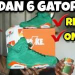 JORDAN 6 GREEN GATORADE REVIEW & ON FEET ???