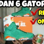 JORDAN 6 GREEN GATORADE REVIEW & ON FEET ???