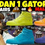TRASH OR CASH? REVIEWING ALL 4 JORDAN 1 GATORADE MALL VLOG!!!