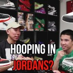 ARE JORDAN SNEAKERS GOOD TO HOOP IN?!