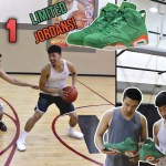 CRAZY 1v1 KING OF THE COURT FOR LIMITED EDITION JORDANS!!