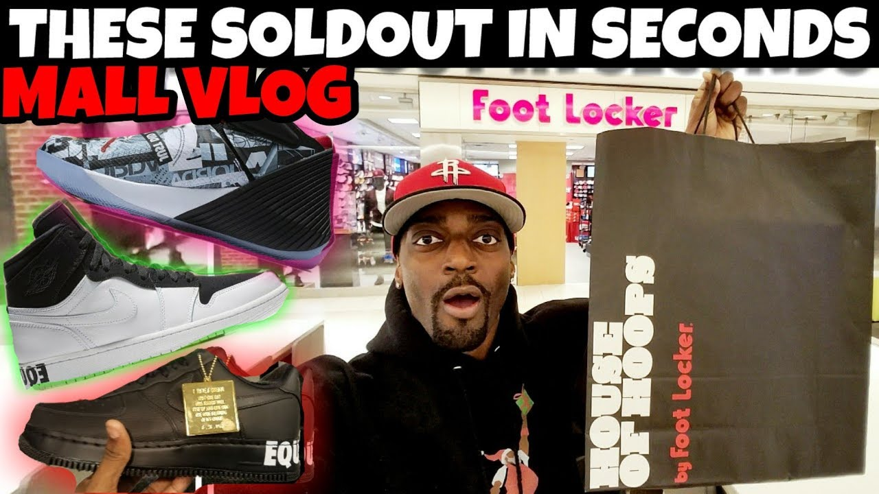 SOLDOUT IN SECONDS Did You Cop Or Zzzz MALL VLOG - SOLDOUT IN SECONDS ??? Did You Cop Or Zzzz? MALL VLOG