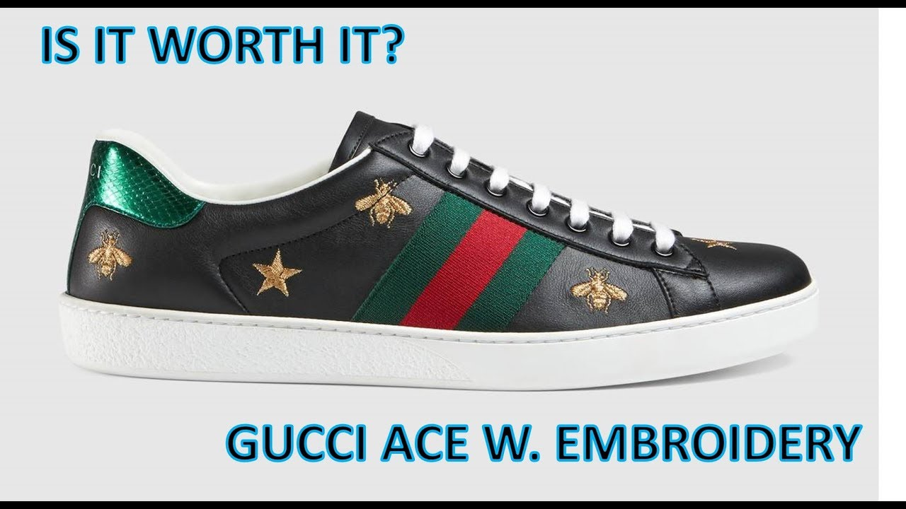 Are they worth it The Gucci Ace - Are they worth it? - The Gucci Ace