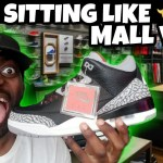 Black Cement 3 Are Sitting Like Ducks ?? But Soldout Online Tho!!!