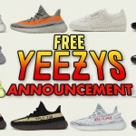 January Free Yeezy Giveaway Announcement