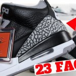 23 Facts About The AIR JORDAN 3 'BLACK CEMENT'!