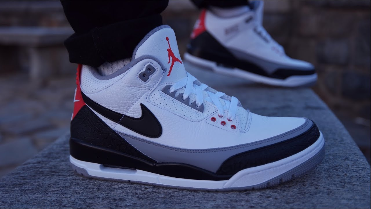 "AIR JORDAN 3 TINKER FULL DETAILED REVIEW ON FEET - AIR JORDAN 3 ""TINKER"" FULL DETAILED REVIEW + ON FEET"