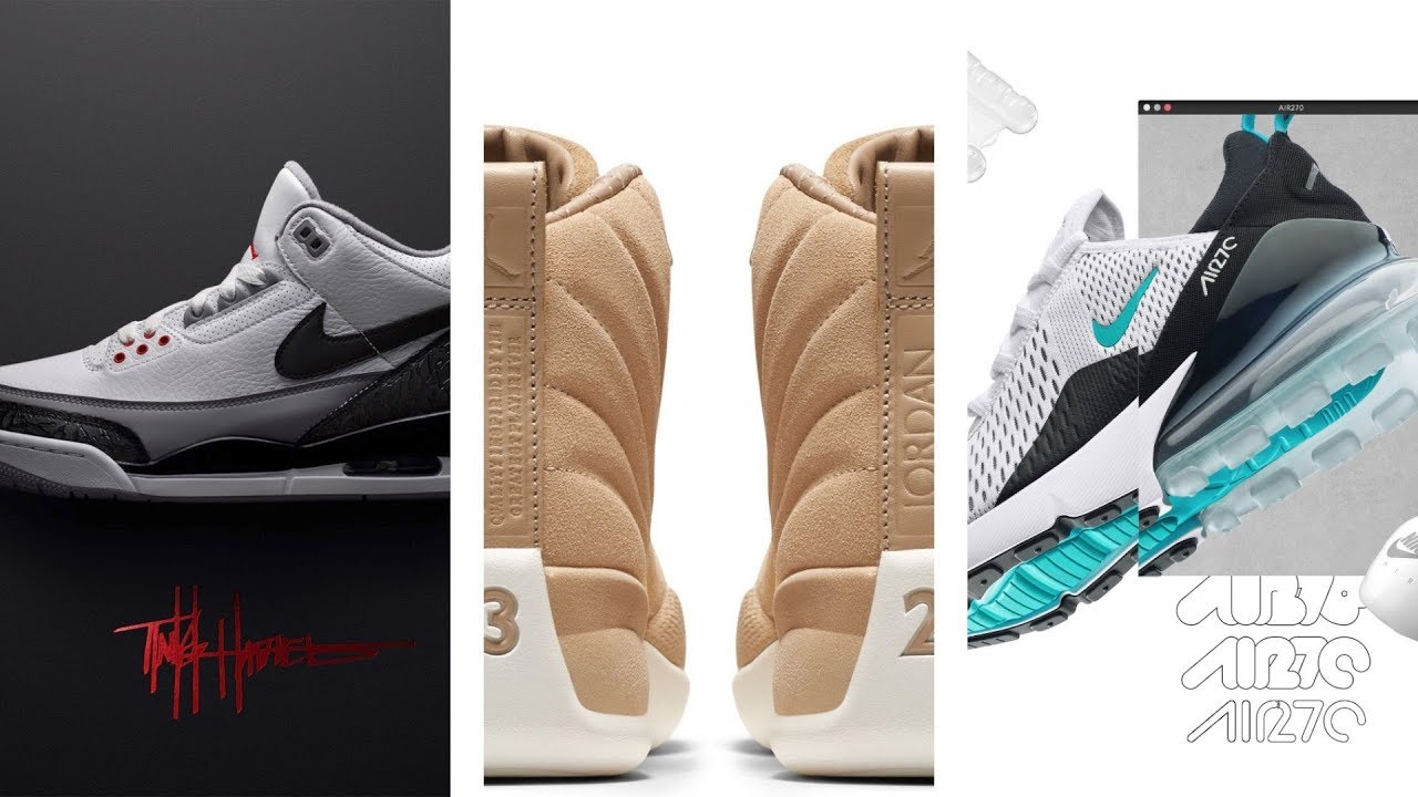 AIR JORDAN 3 Tinker Big SEAN x PUMA KYRIE 4 March Madness and more SNEAKERS  on