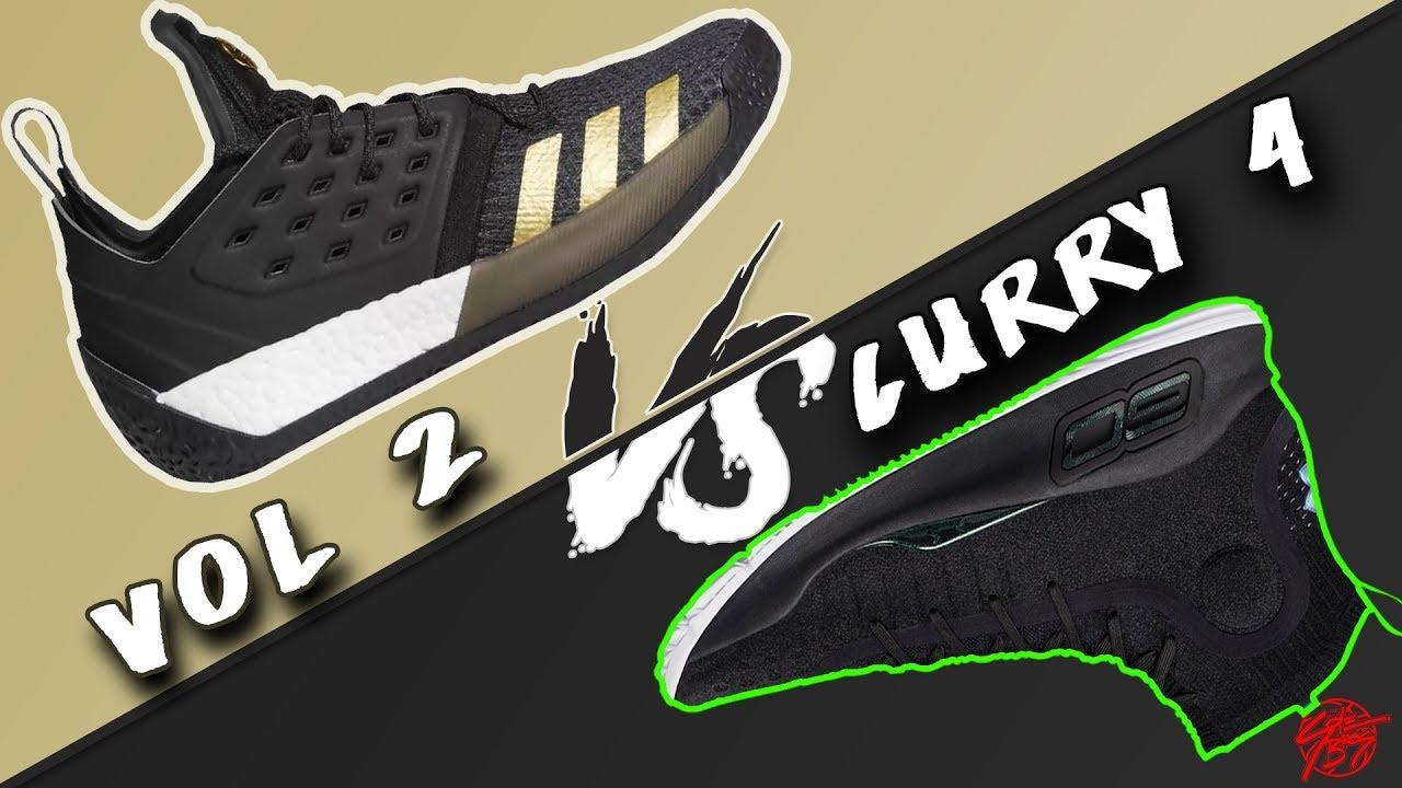 Adidas harden 2 vs sotto l'armatura curry 4!