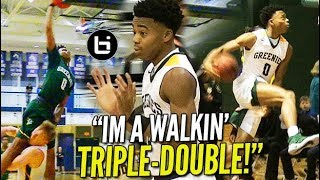 "Jalen Lecque is the HS Russell Westbrook NYC Guard A WALKING TRIPLE DOUBLE - Jalen Lecque is the HS ""Russell Westbrook!"" NYC Guard A WALKING TRIPLE-DOUBLE!"