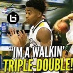 "Jalen Lecque is the HS ""Russell Westbrook!"" NYC Guard A WALKING TRIPLE-DOUBLE!"