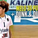 LaMelo Ball Scores 36 Points & Throws Down ONE HAND OOP!! BBB Showcase!