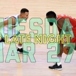 NBA Daily Show: Mar. 27 – The Starters
