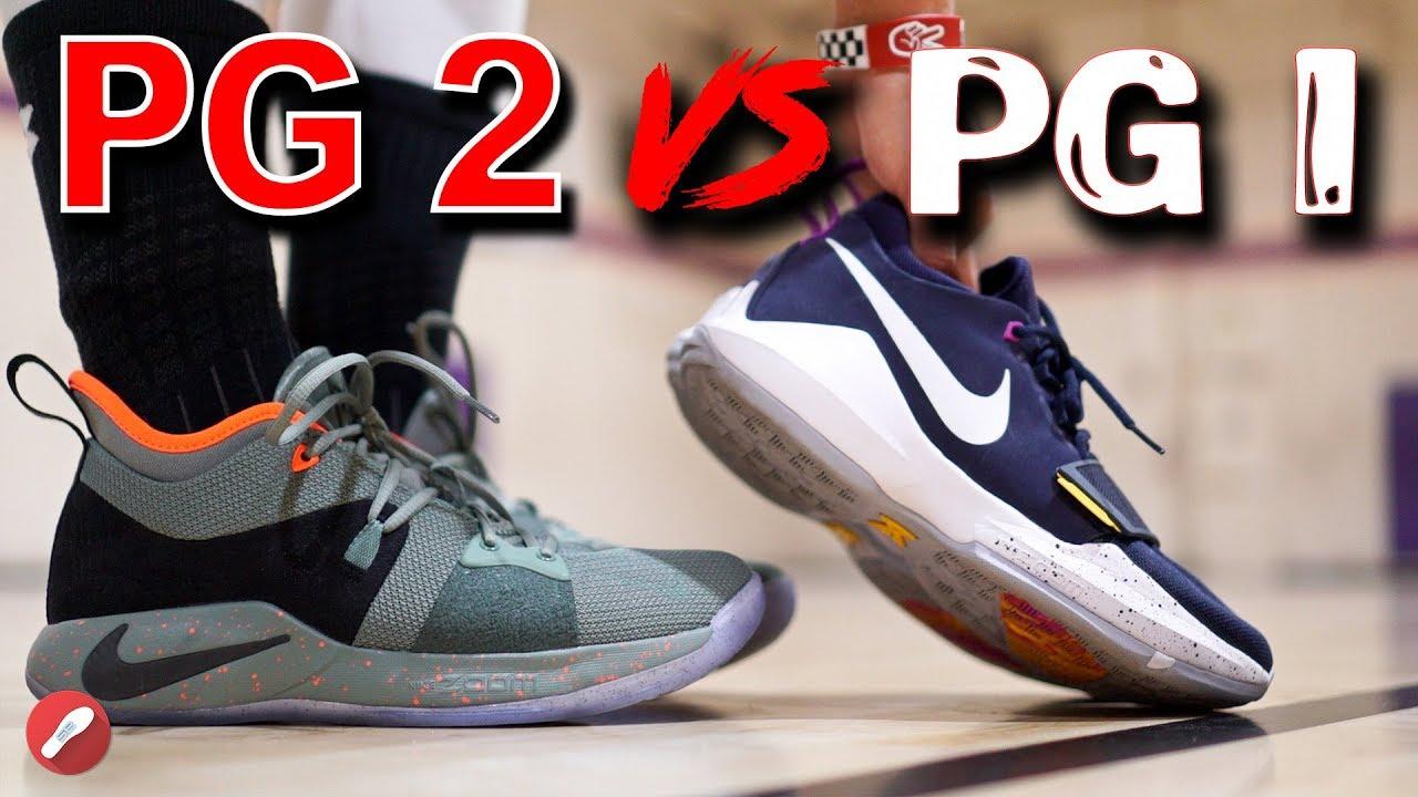 Nike PG 2 vs PG 1 - Nike PG 2 vs PG 1!