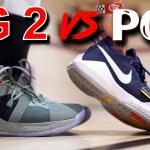 Nike PG 2 vs PG 1!