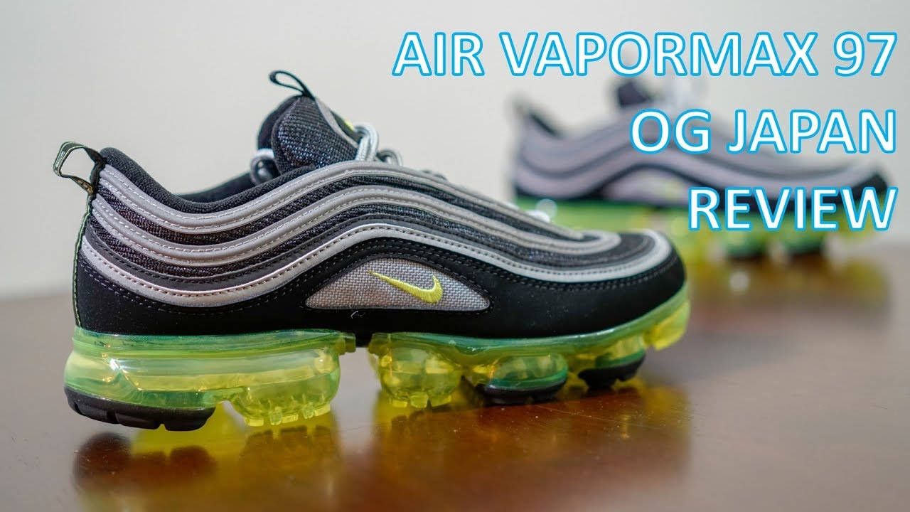REVIEW ON FEET Air Vapormax 97 OG Japan - REVIEW & ON-FEET - Air Vapormax 97 OG Japan