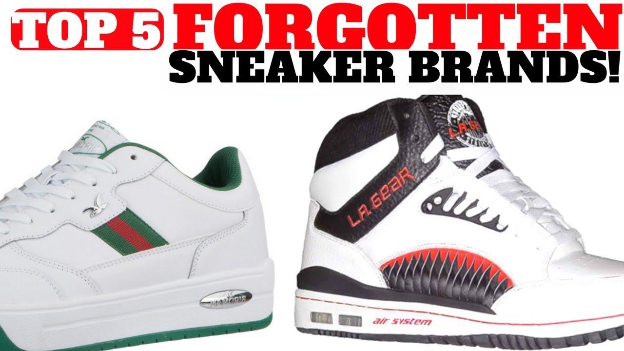 Top 5 SNEAKER Brands You FORGOT - Top 5 SNEAKER Brands You FORGOT!